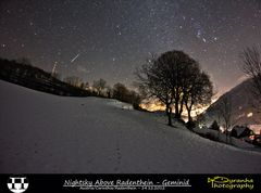 Nightsky Above Radenthein - Geminid