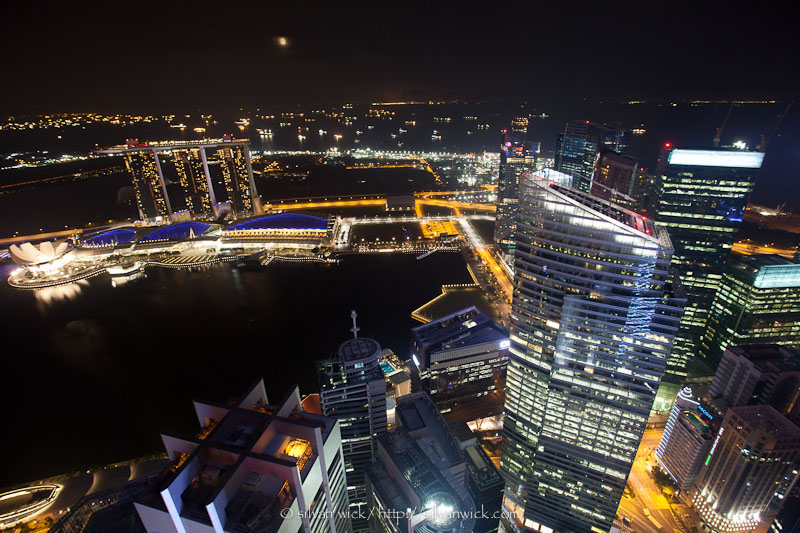 nighttime in Singapore