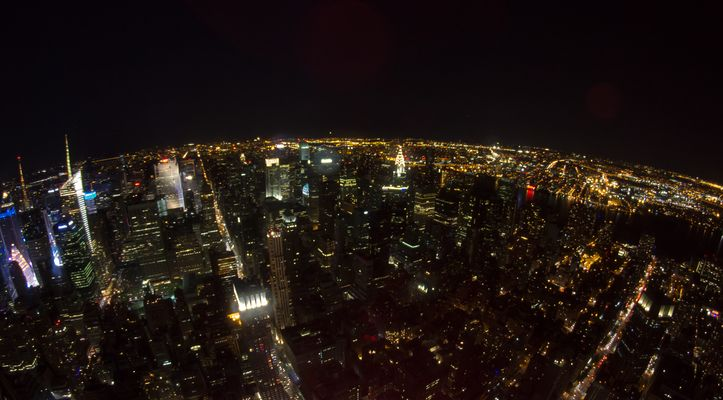Nightview from Empire State