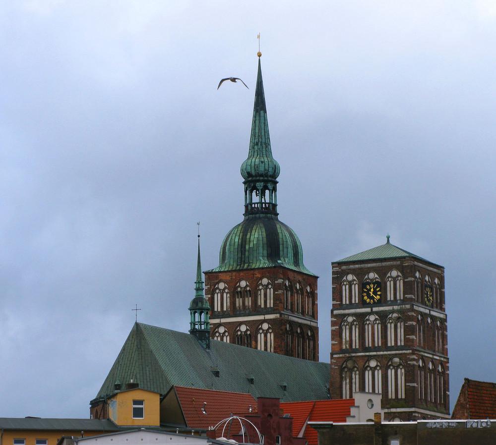 Nikolai-kirche zu Stralsund.