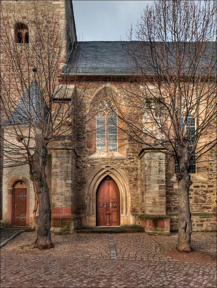 Nikolaikirche in Wettin #1