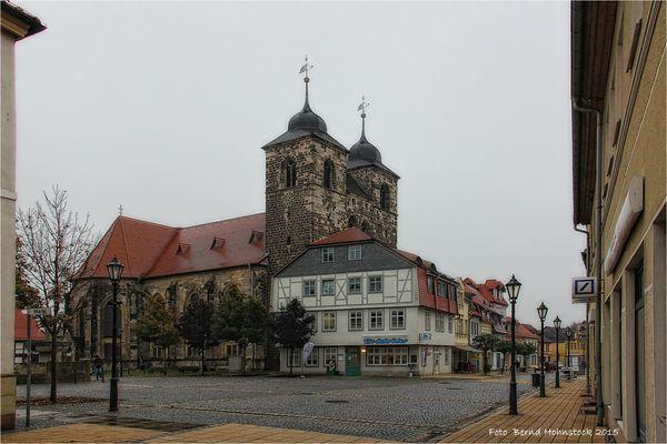 Nikolaikirche meiner Geburtsstadt Oschersleben ....