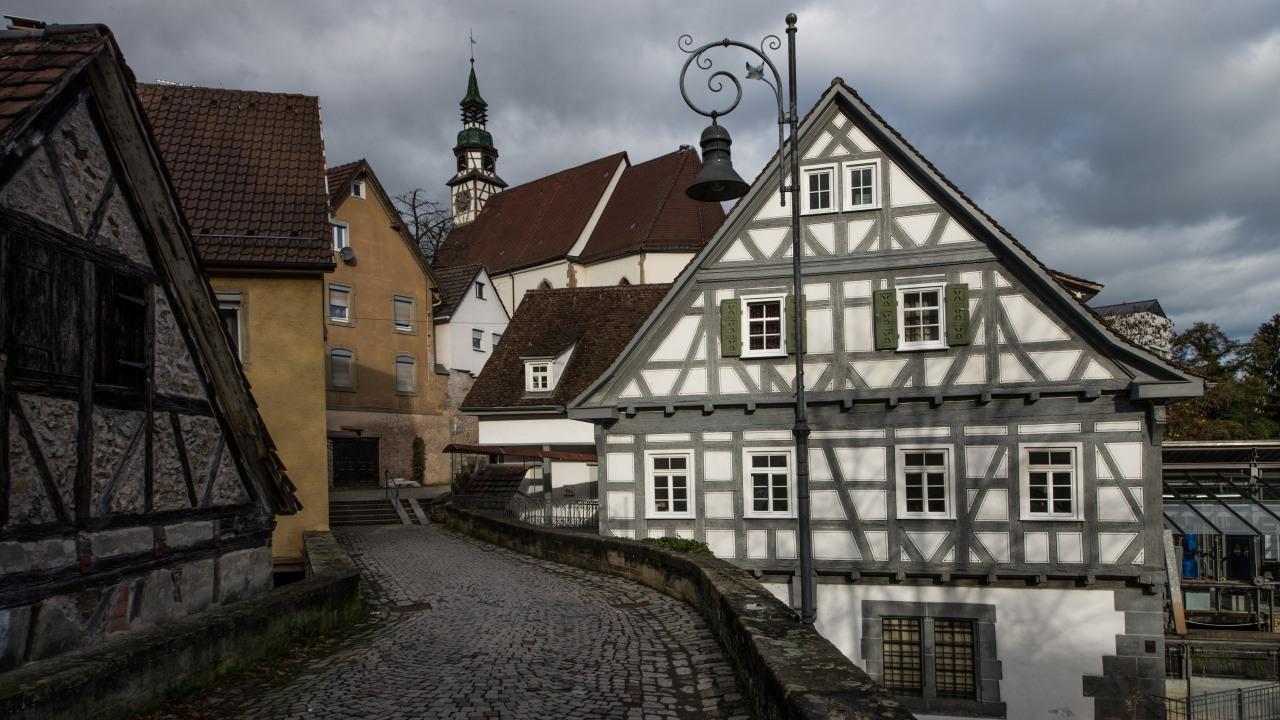 Nikolaikirche und Altstadt Waiblingen