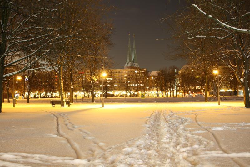 Nikolaiviertel im Dezember