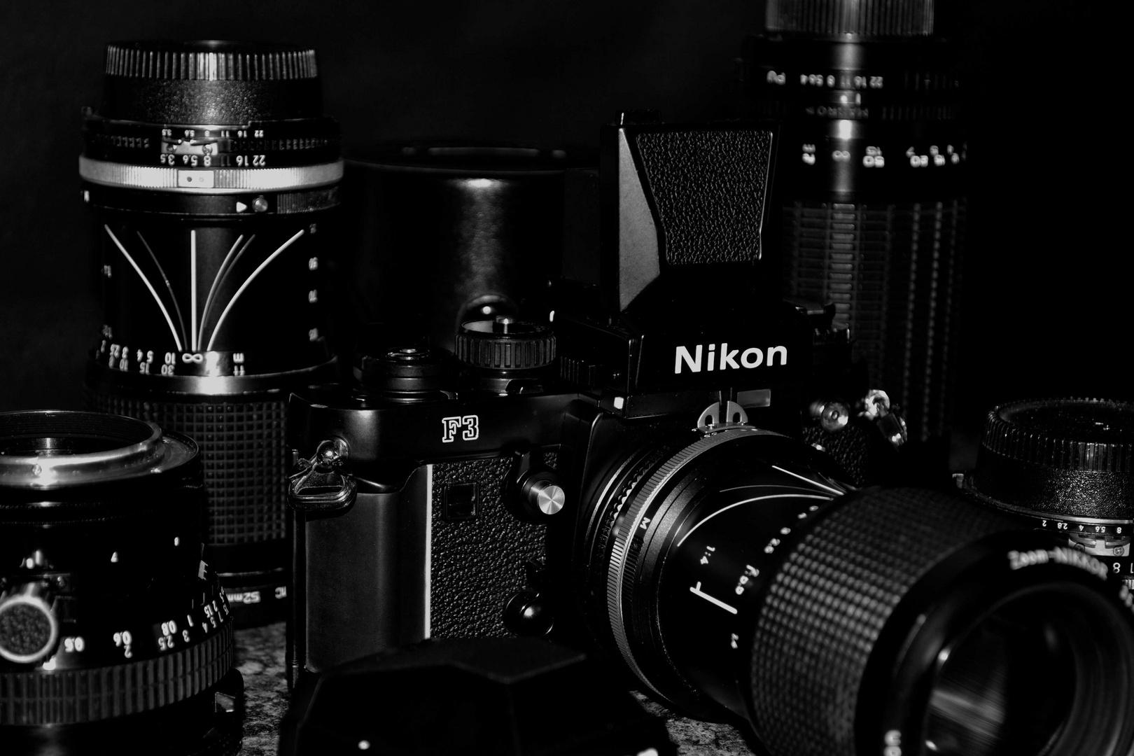Nikon F3 - Equipment nahezu im Neuzustand von 1985 - 3
