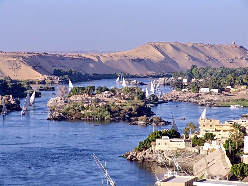 Nil bei Assuan