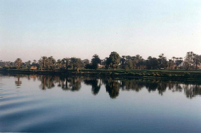Nil-Landschaft