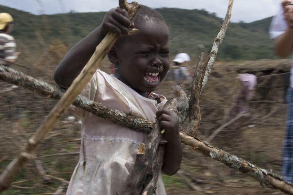 Niño de la tribu Samburu