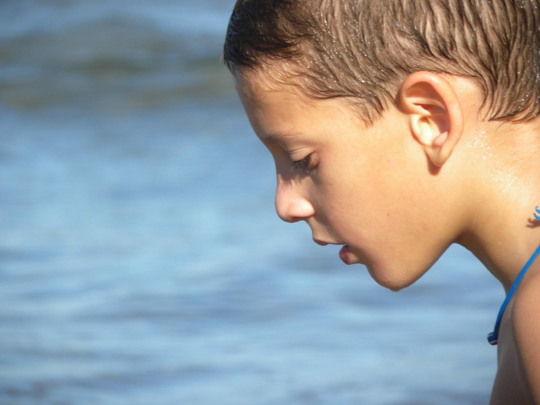 Niño del agua