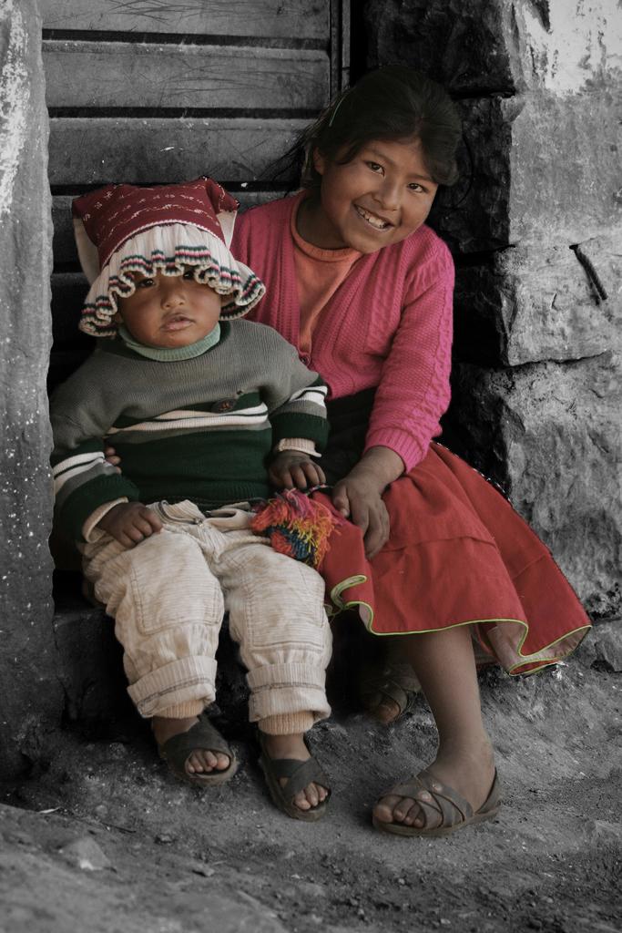 niños andinos de Cuzco - Peru