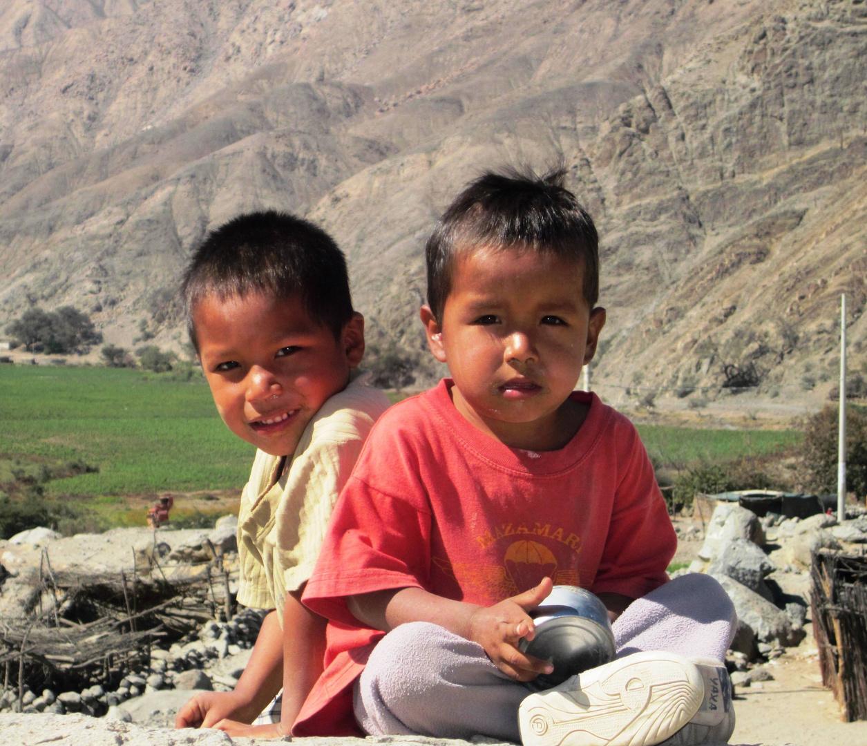 Niños rurales