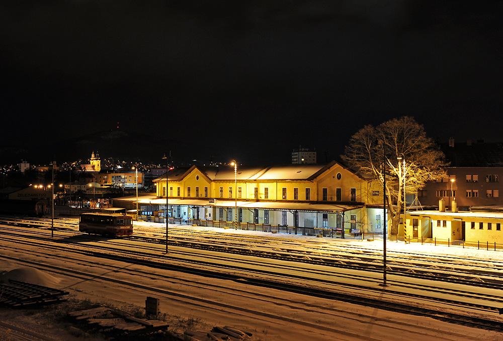 Nitra in der Nacht