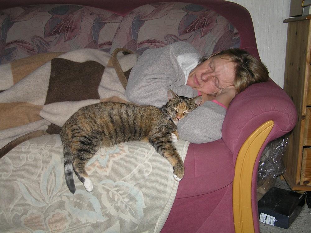 Nix mit Schönheitsschlaf!
