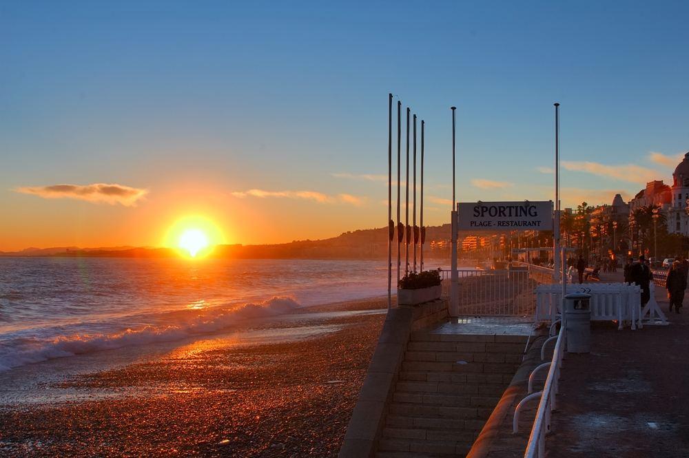 Nizza - Sonnenuntergang III
