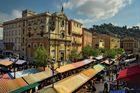 Nizza - Wochenmarkt am Cours Saleya