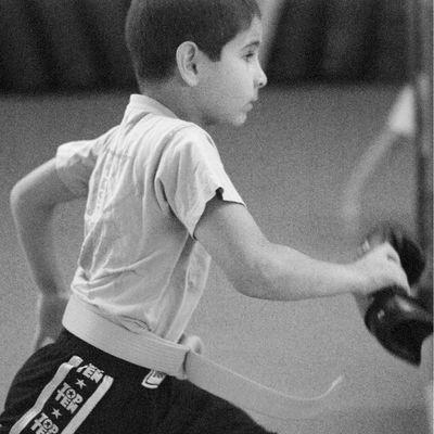 N.N., 8 Jahre, Kickboxen