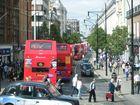 NO HACE FALTA PALABRAS PARA DECIR EL CAOS EN OXFORD STREET,LONDON A HORA PUNTA