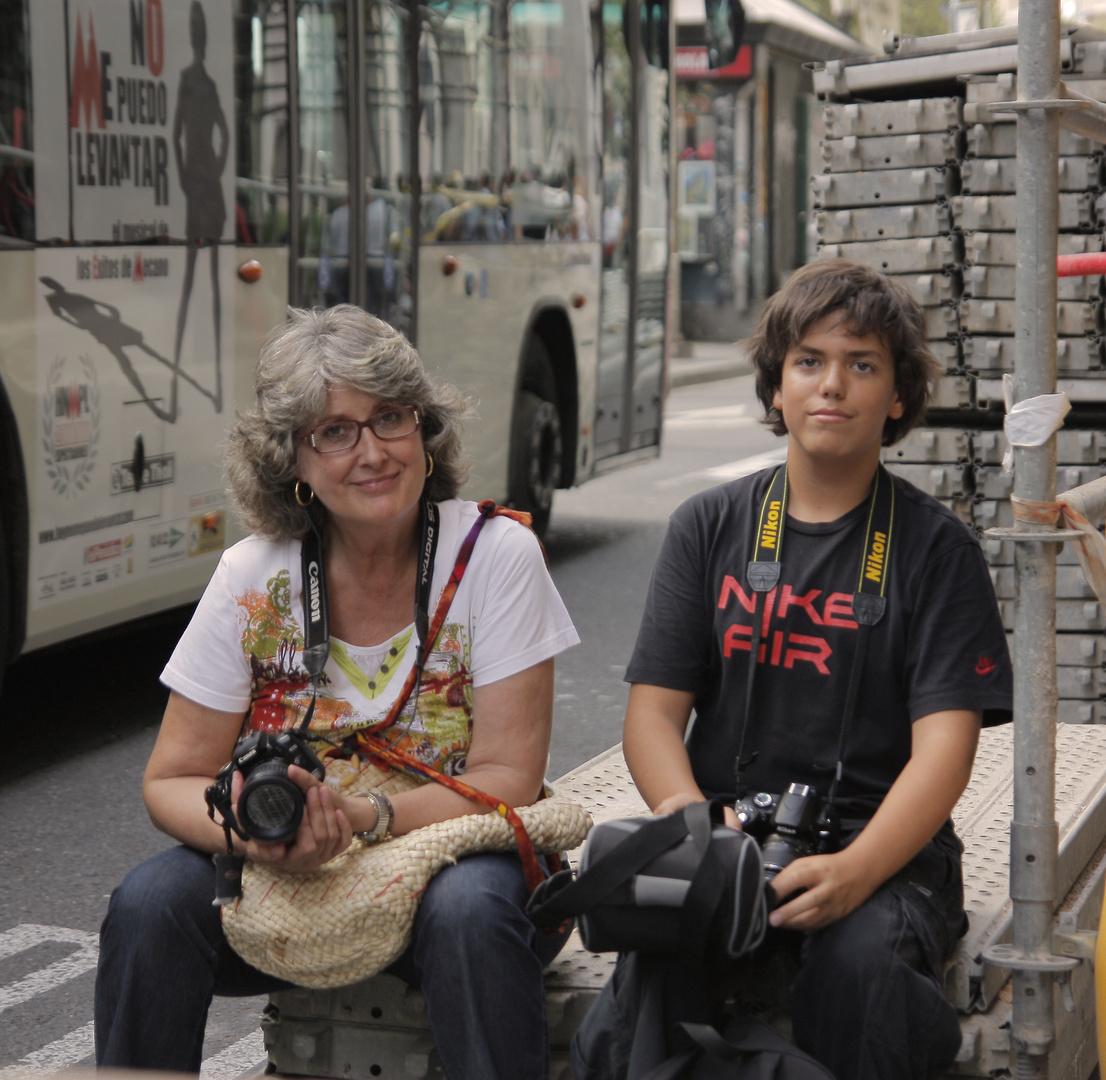 no me puedo levantar.... Mª Teresa Pascual y Alex Sotillos