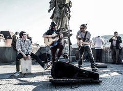 NO P* street music Wuerzburg Trio