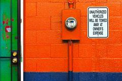 """"""" no parking I """", ohio, usa"""