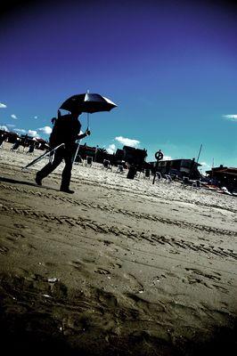 no rain at the beach