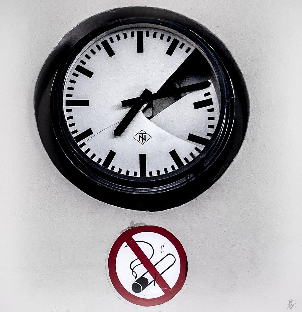 no time - no smoking