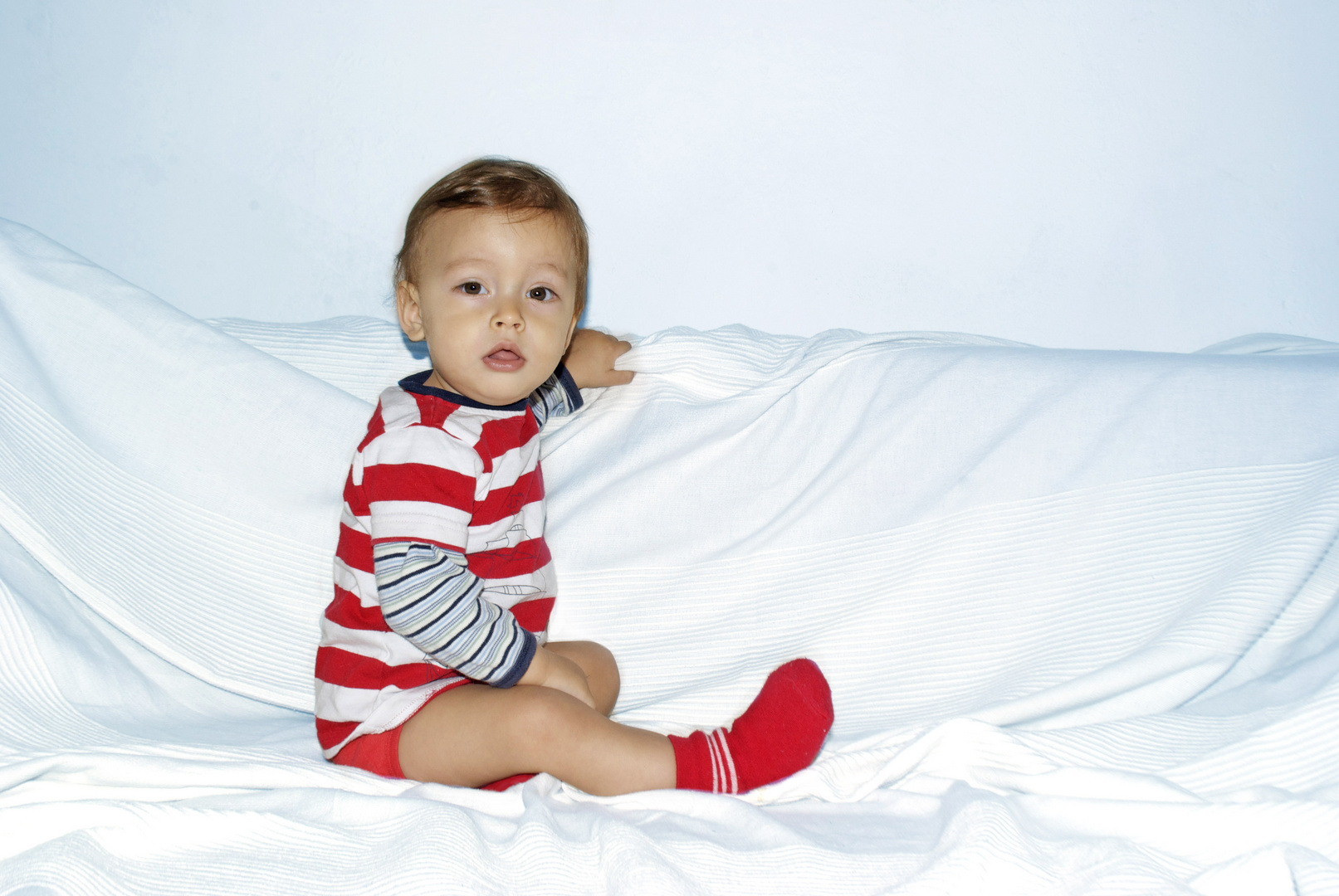 Noah a sus 10 meses