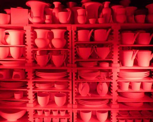 noch alle Tassen im Schrank !