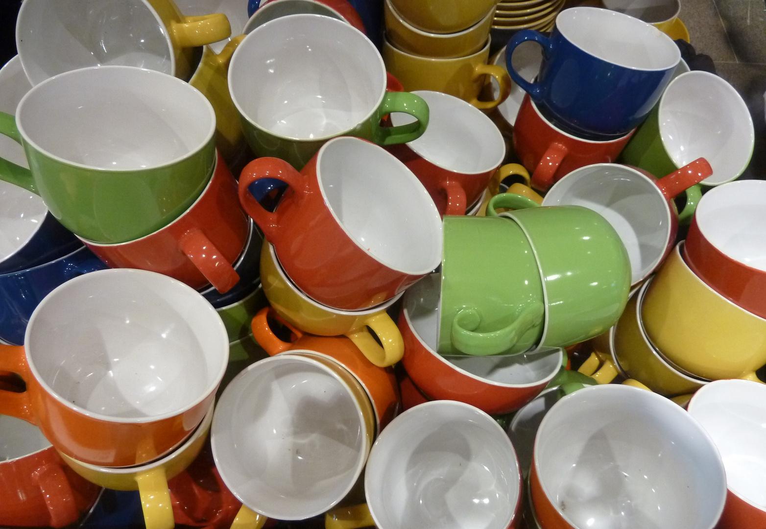 Noch alle Tassen im Schrank?