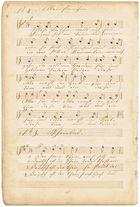 Noch ein alter Notenschatz: Aus dem selbstgeschriebenen Liederbuch meines Urgroßvaters . . .