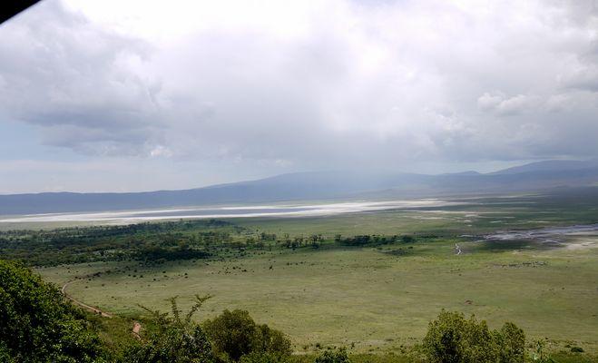 noch ein anderer Blick in den Ngorongoro Krater
