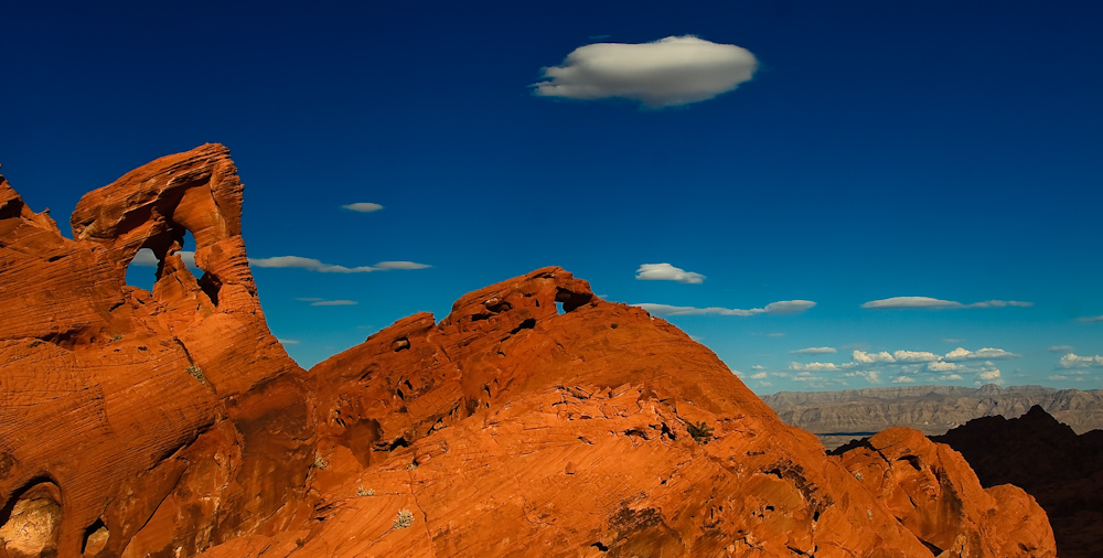 Noch ein Arch im Valley of Fire Nevada
