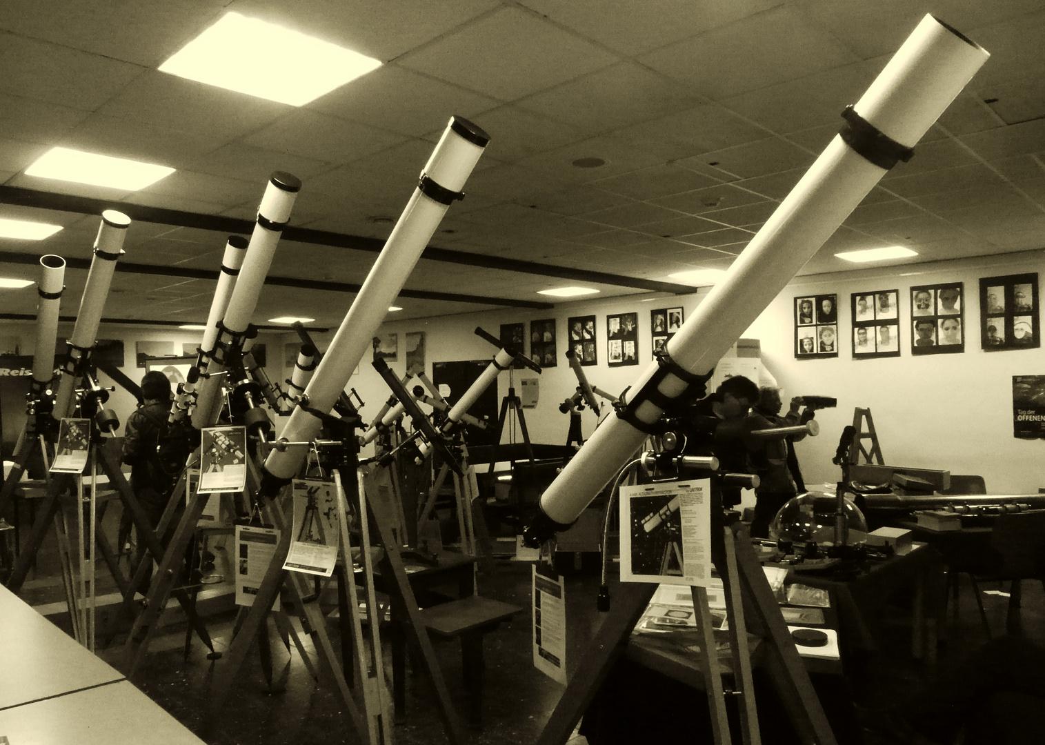 noch ein Ballett der Teleskope