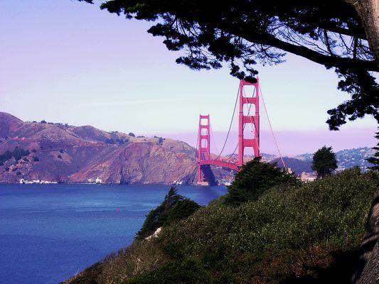 ...noch ein Blick auf die Golden Gate.