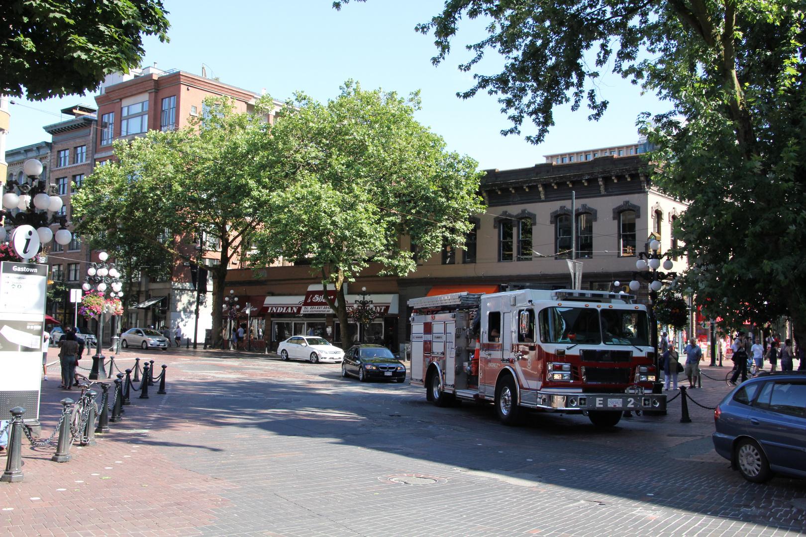 Noch ein Feuerwehrwagen