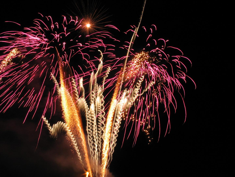 Noch ein Feuerwerk