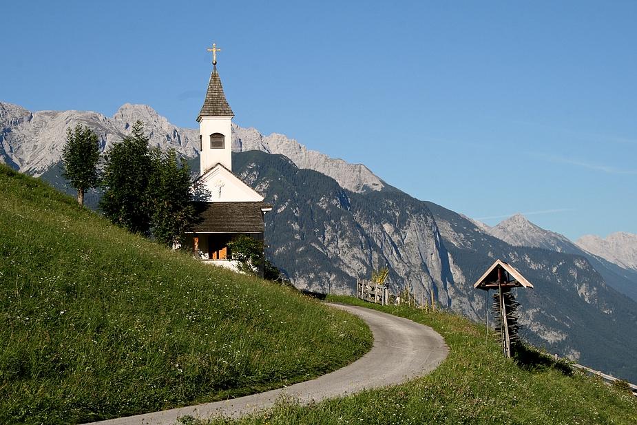 Noch ein Kirchlein bei Innsbruck
