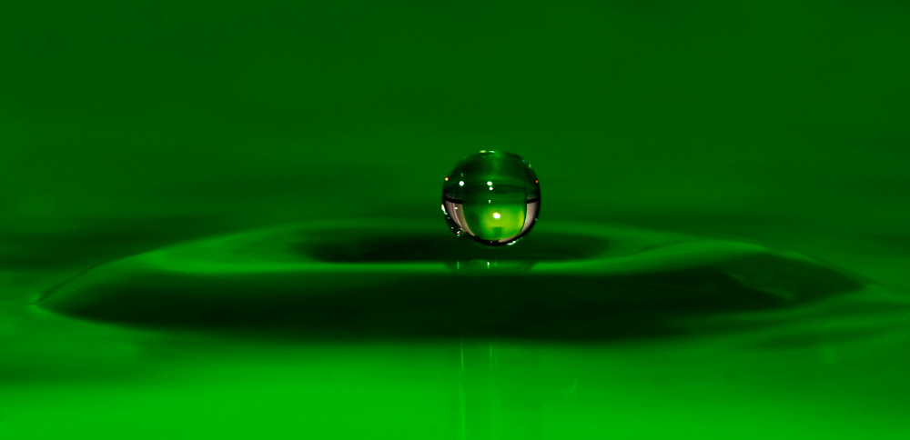 noch ein mal grün
