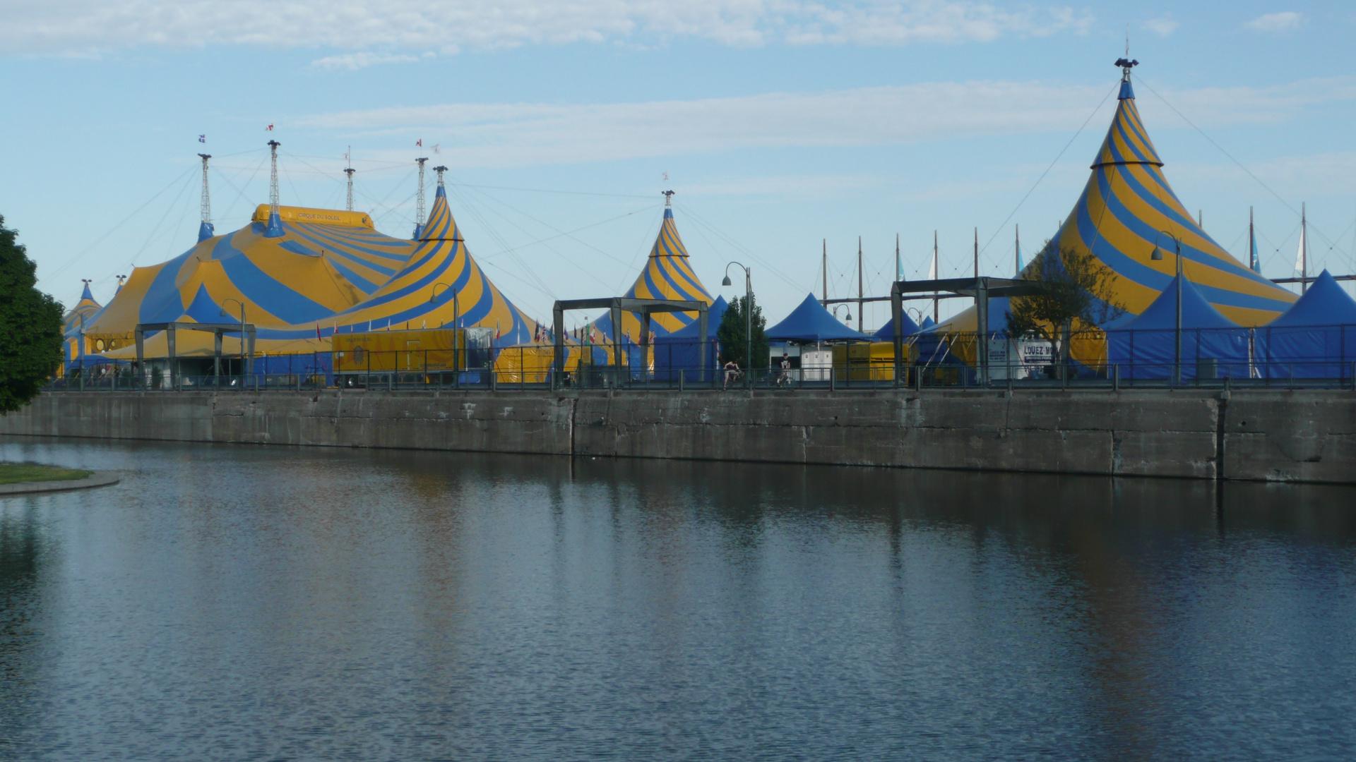 Noch ein Nachklapp aus Montreal: Das sind die Zelte des ...