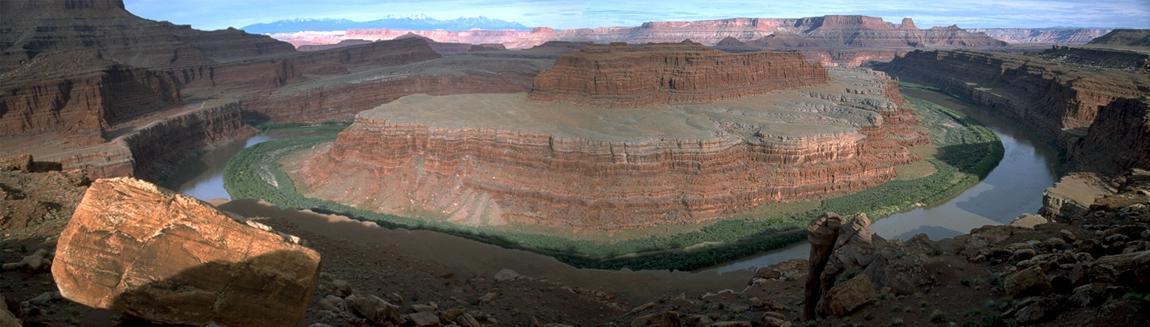 Noch ein Panorama: Colorado-Schleife  am Dead Horse Point