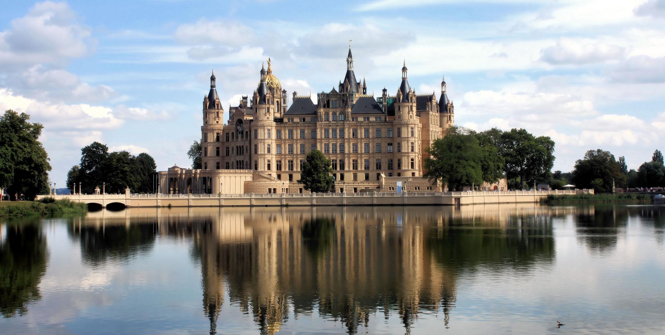 Noch ein Postkartenfoto / Schwerin / Schloss BUGA 2009