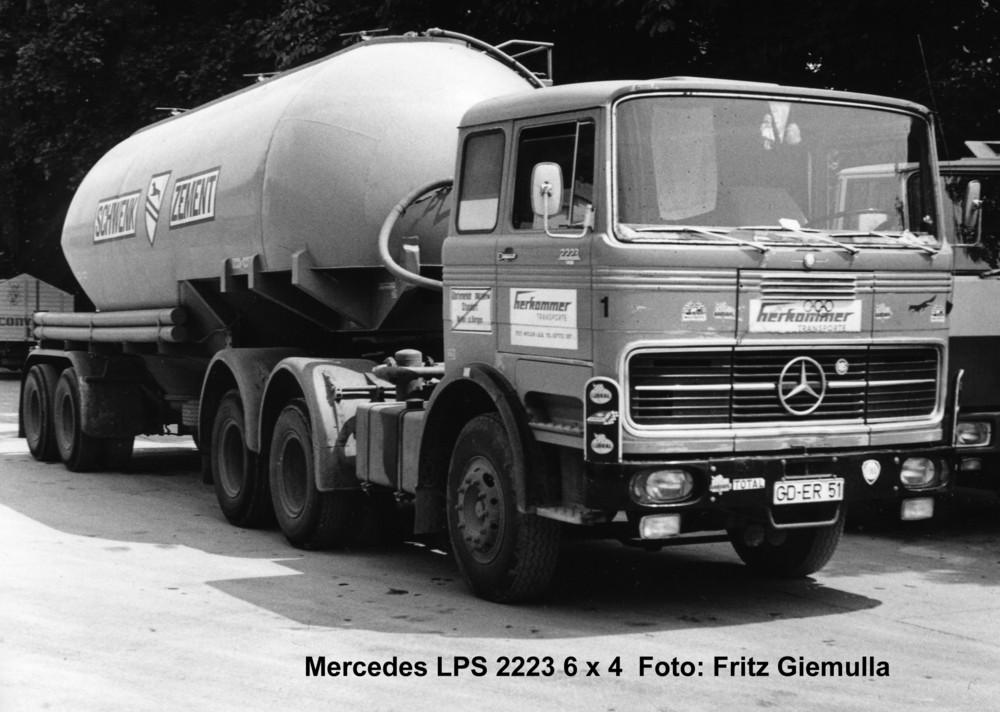 Noch ein Silozug: Mercedes LPS 2223
