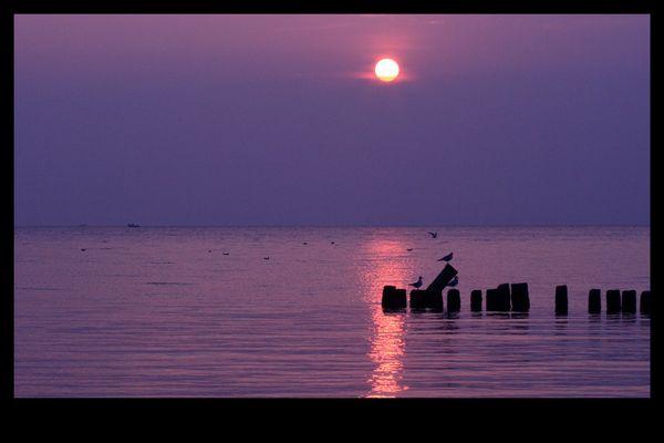 Noch ein Sonnenaufgang