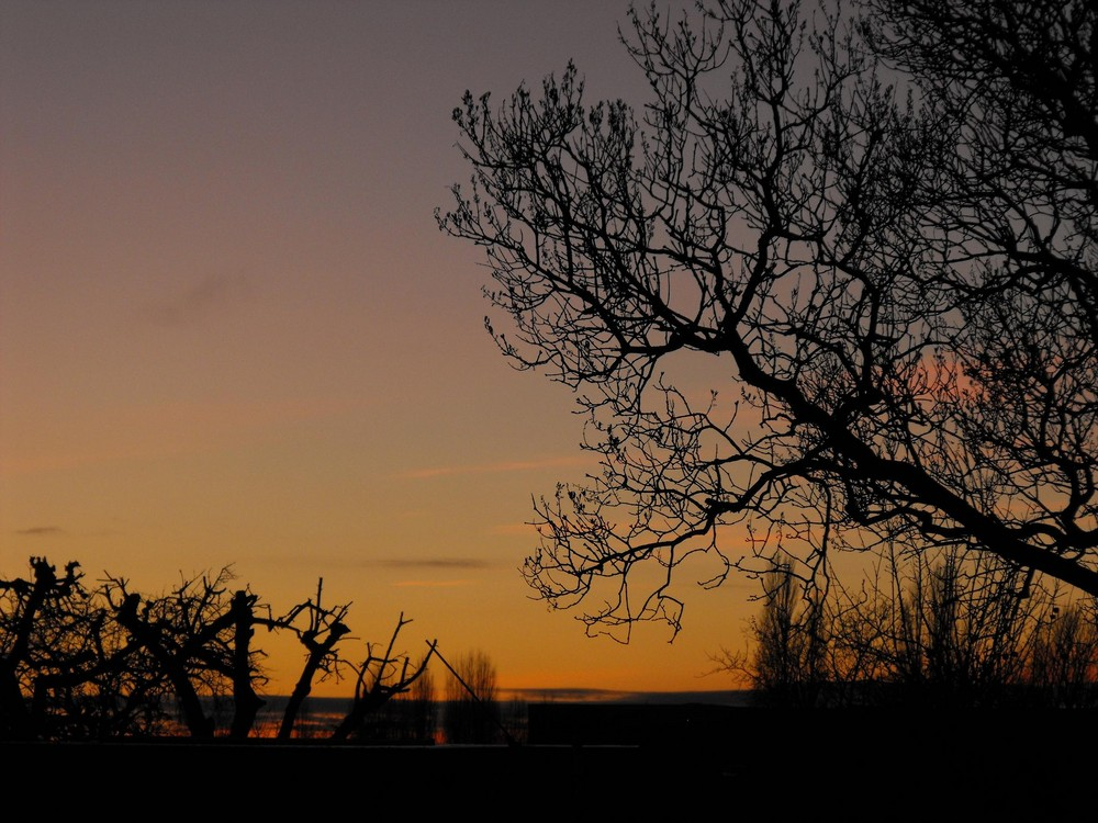 Noch ein Sonnenuntergang