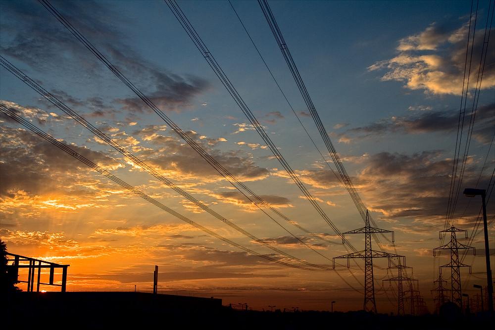 Noch ein Sonnenuntergang...