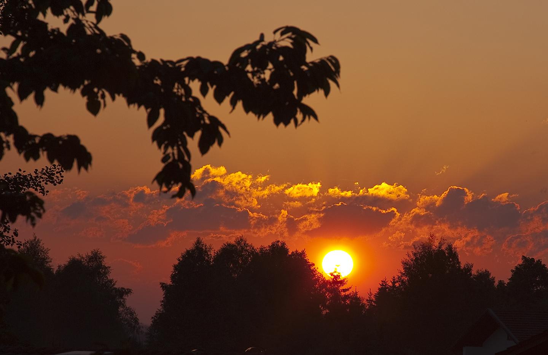 ... noch ein Sonnenuntergang
