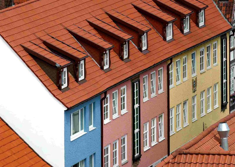 Noch ein über den Dächern von Lüchow