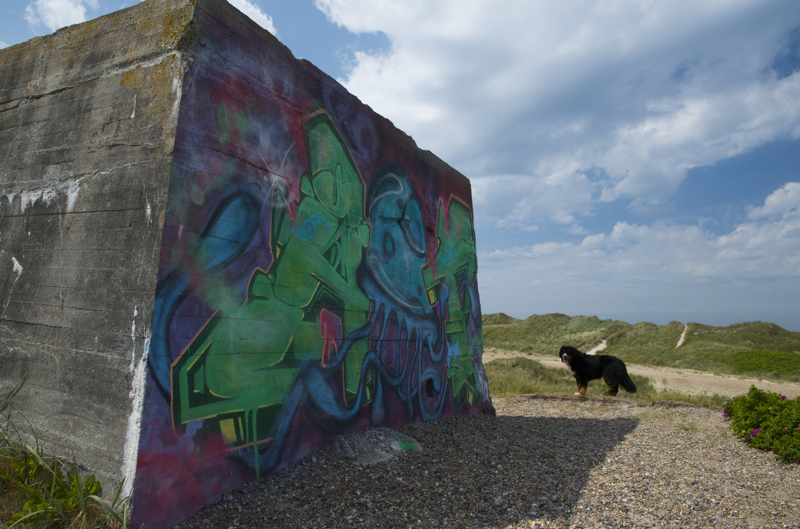 Noch ein verkünstelter Bunker
