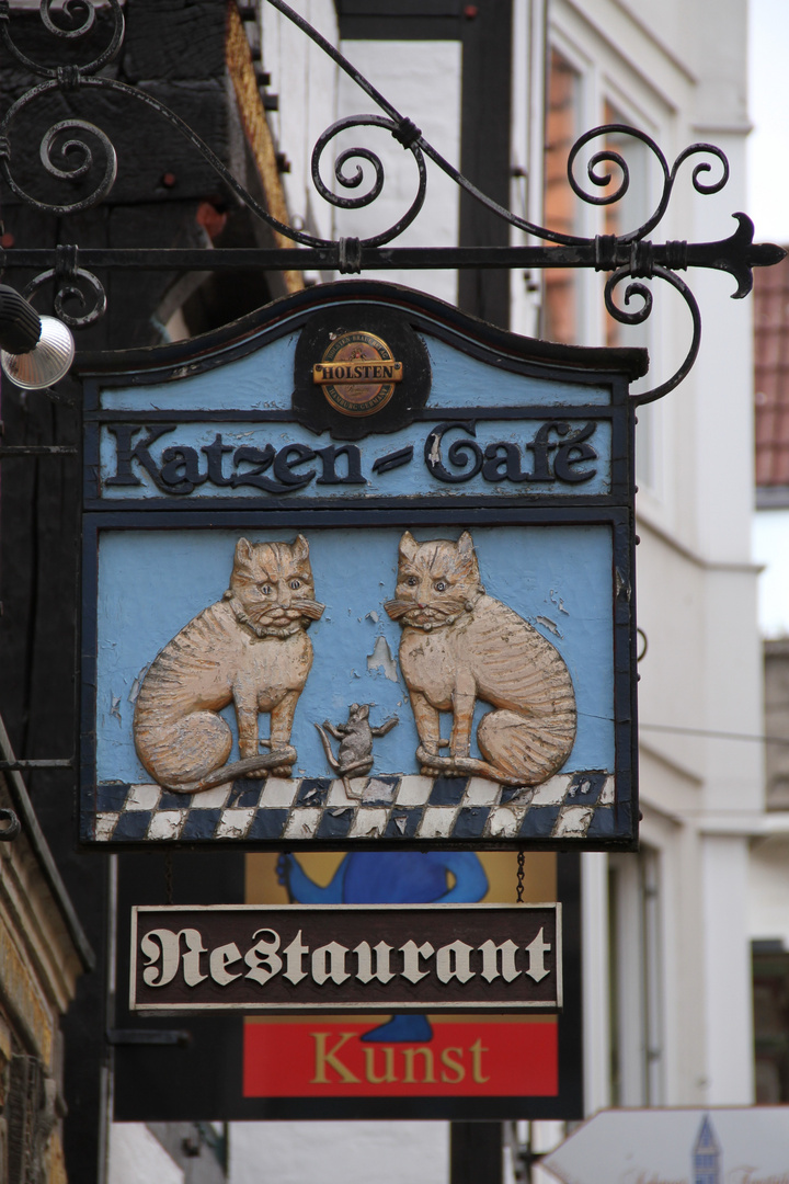Noch eine Katzen-Gaststätte