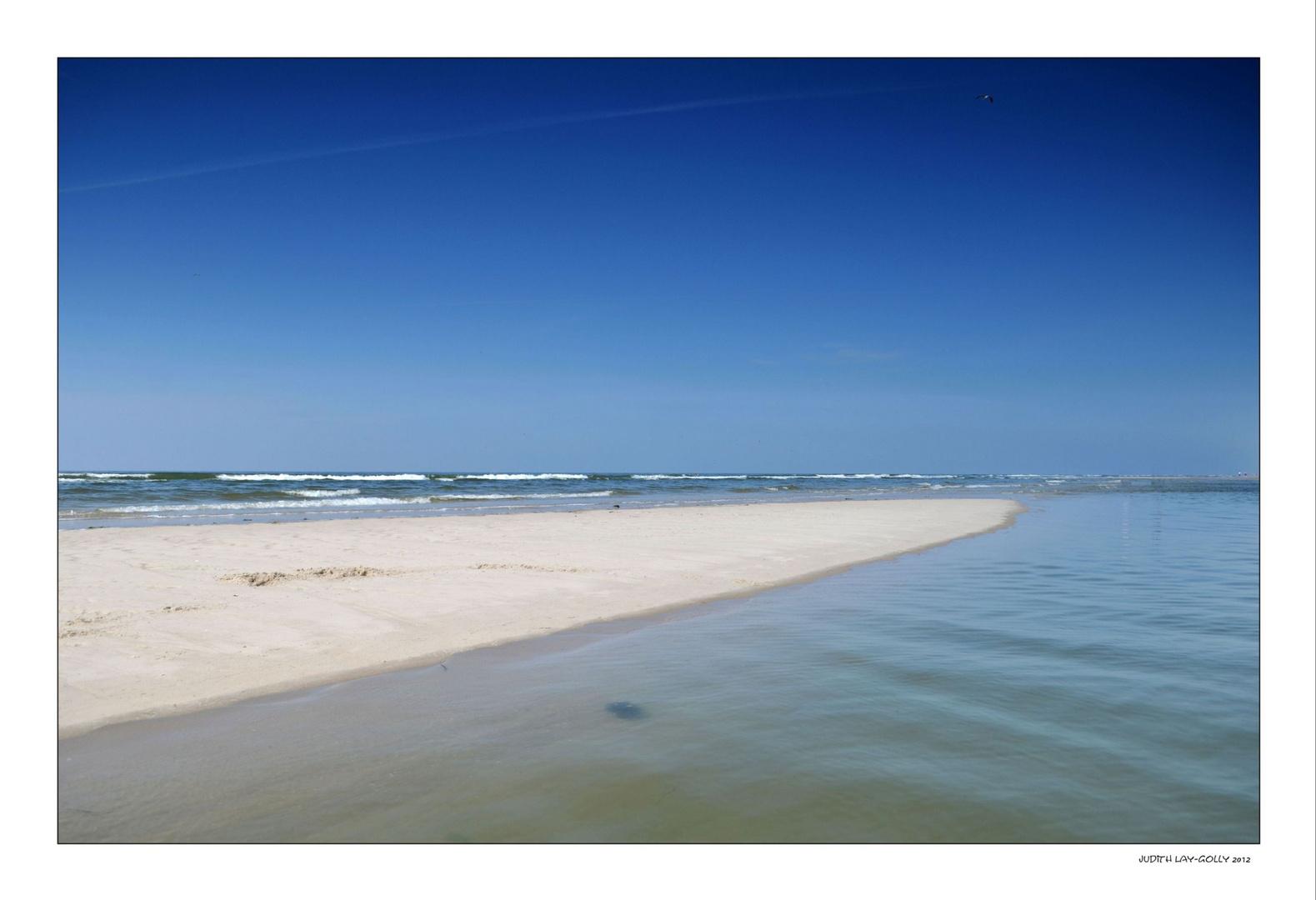 Noch eine Sandbank ...